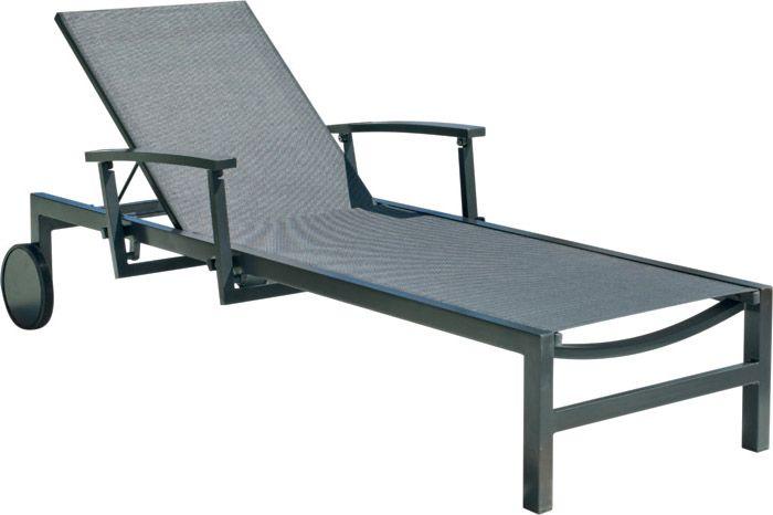 bain de soleil alu et coussin brescia par 2. Black Bedroom Furniture Sets. Home Design Ideas
