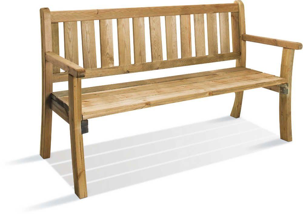 banc de jardin en bois philadelphia. Black Bedroom Furniture Sets. Home Design Ideas