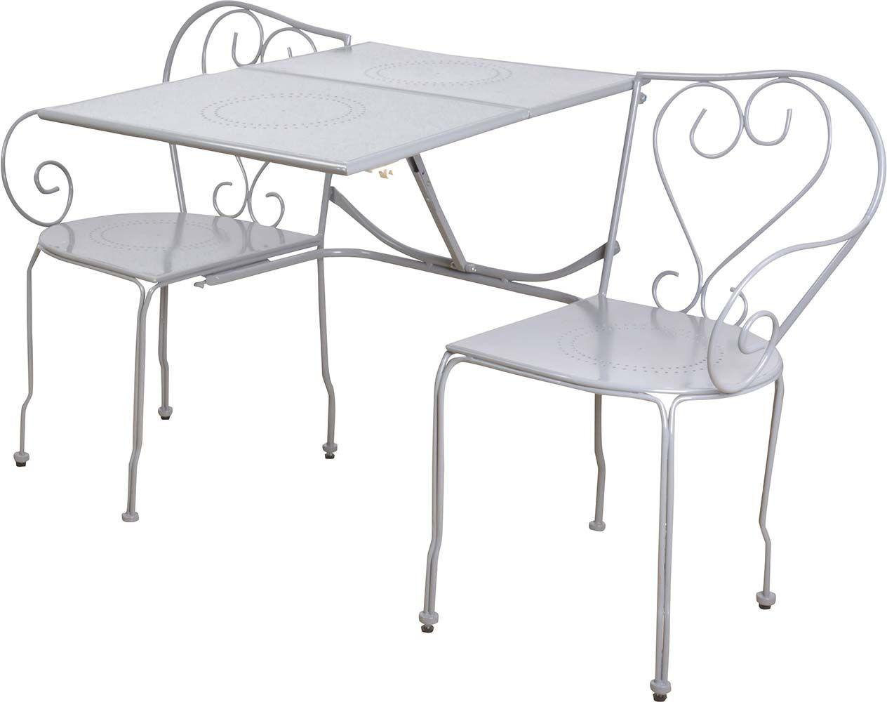 Fauteuil ext rieur spring noir en r sine et acier for Table exterieur transformable