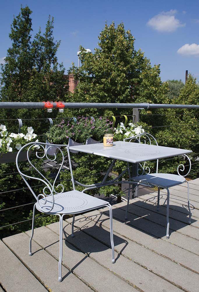Banc de jardin convertible en table chaises classique gris - Banc de jardin transformable en table ...