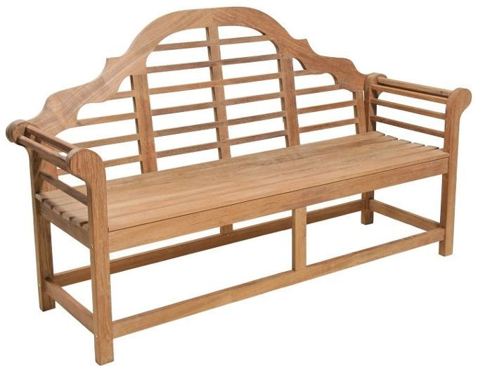 Banc de jardin 3 places en teck for Banc teck douche