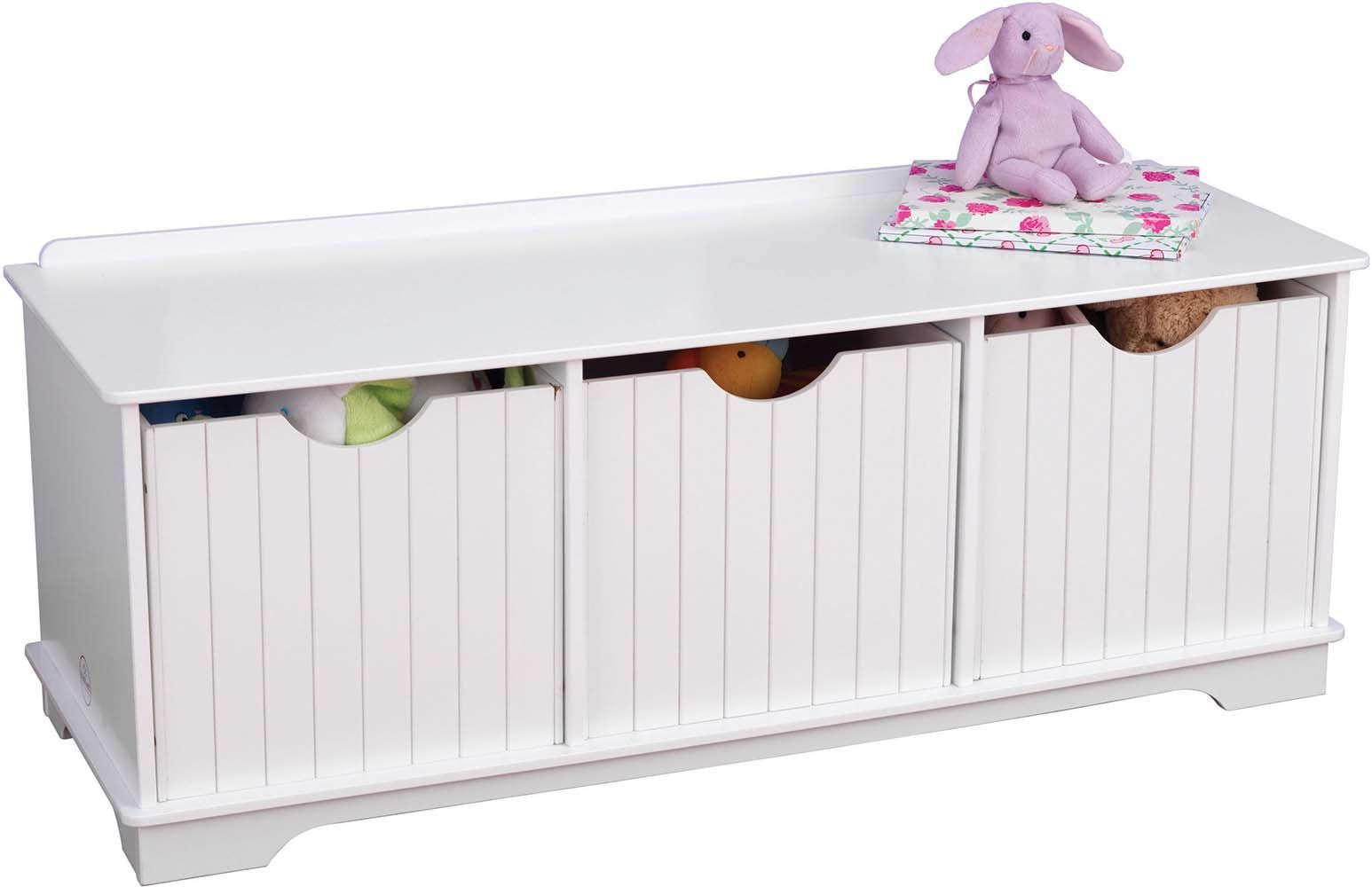 banc de rangement enfant nantucket. Black Bedroom Furniture Sets. Home Design Ideas