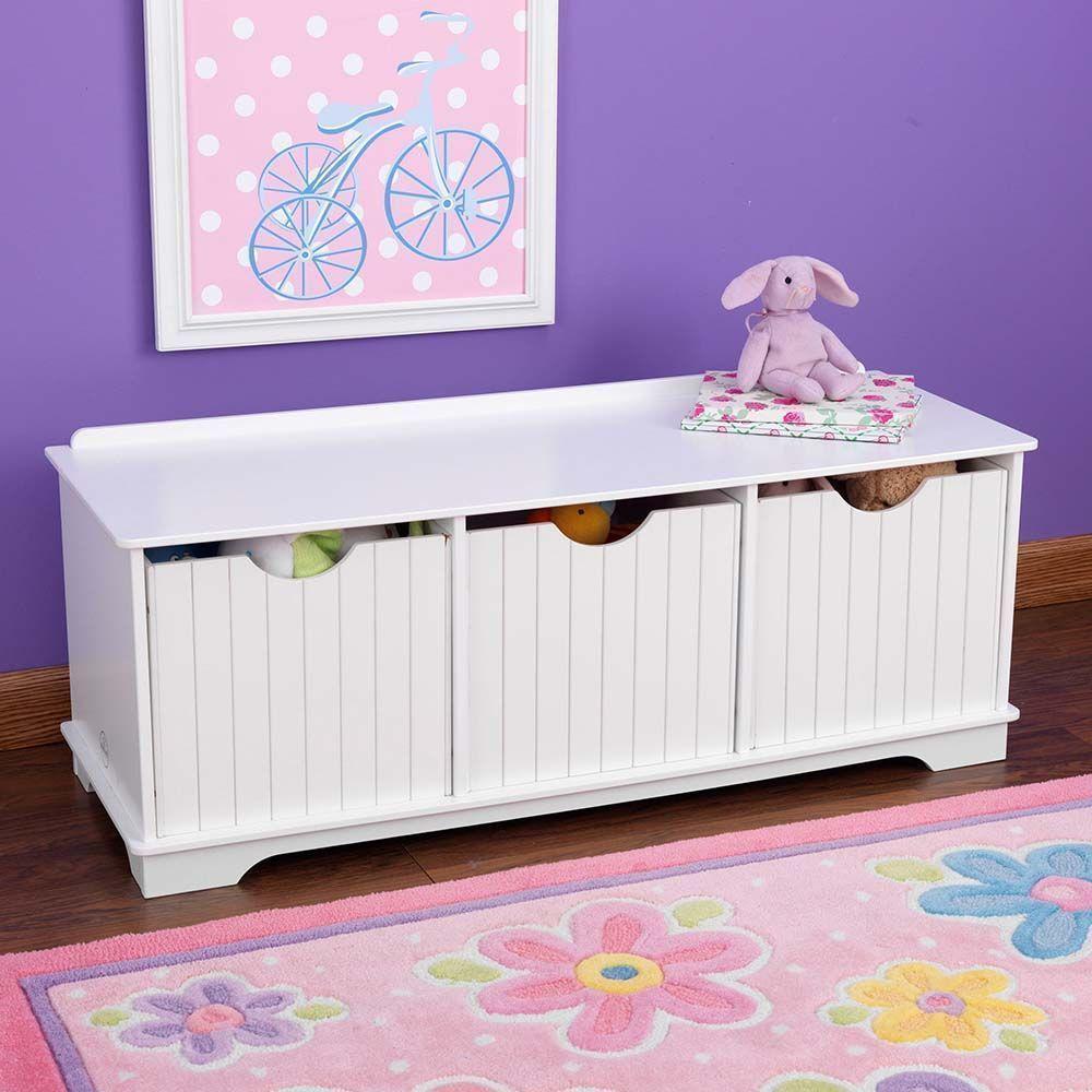 banc de rangement enfant nantucket. Black Bedroom Furniture Sets. Home Design Ideas