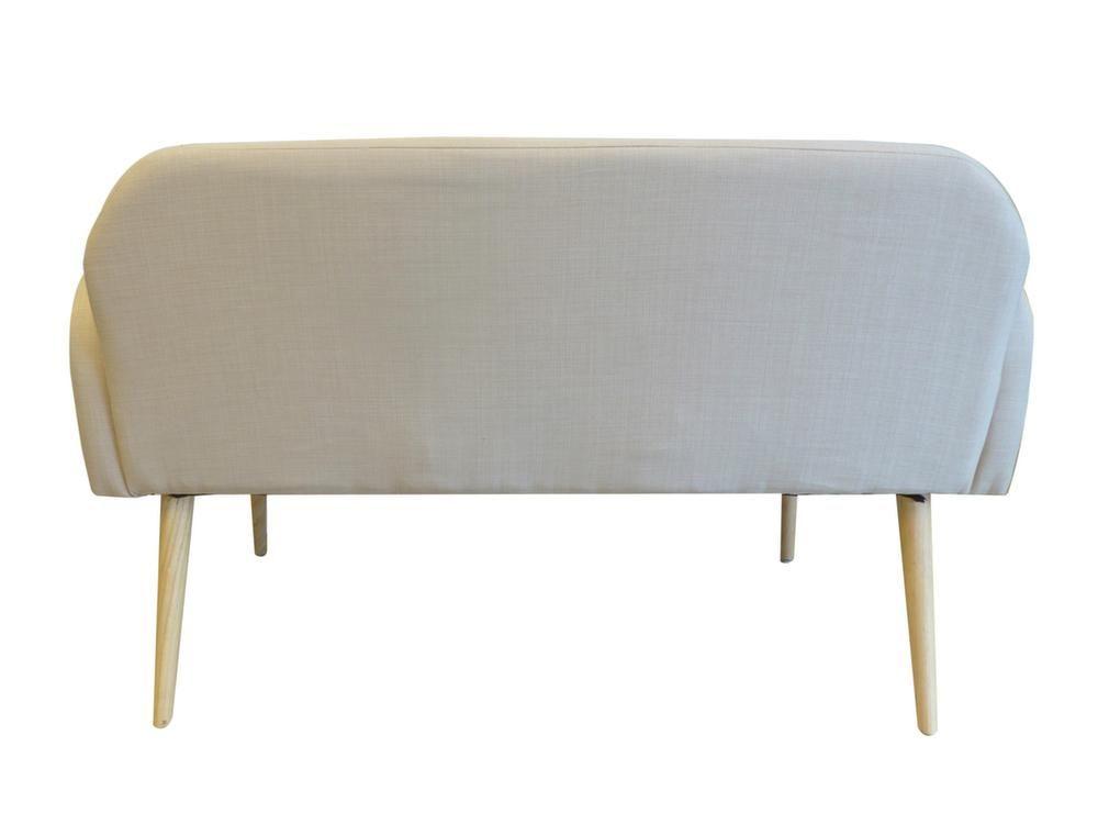 banquette scandinave en toile effet lin oslo lin. Black Bedroom Furniture Sets. Home Design Ideas