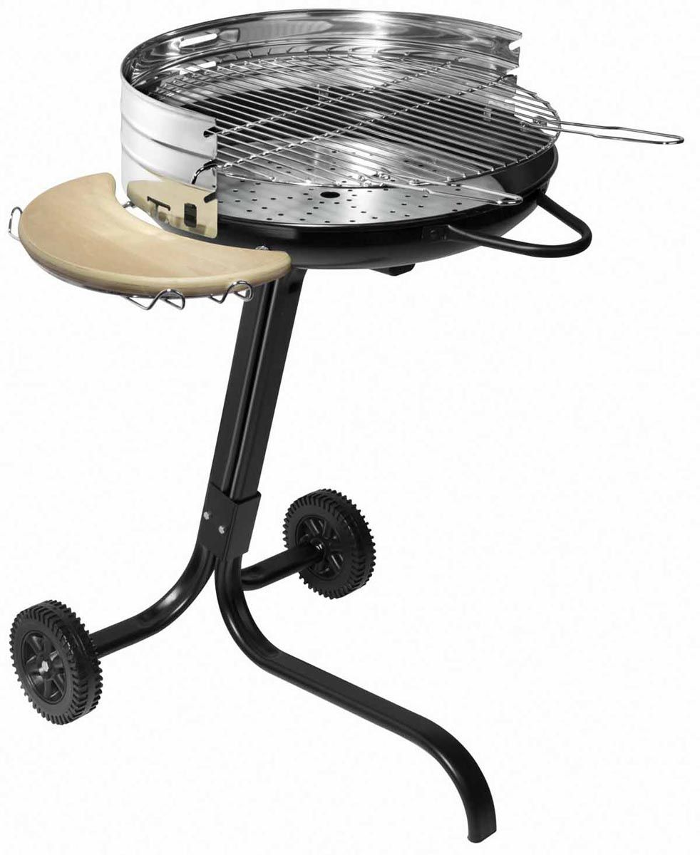 Barbecue � charbon sur roulettes Star