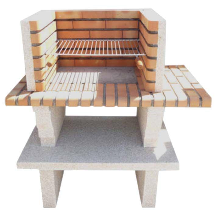 barbecue en pierre reconstitu e et brique barbecue en. Black Bedroom Furniture Sets. Home Design Ideas