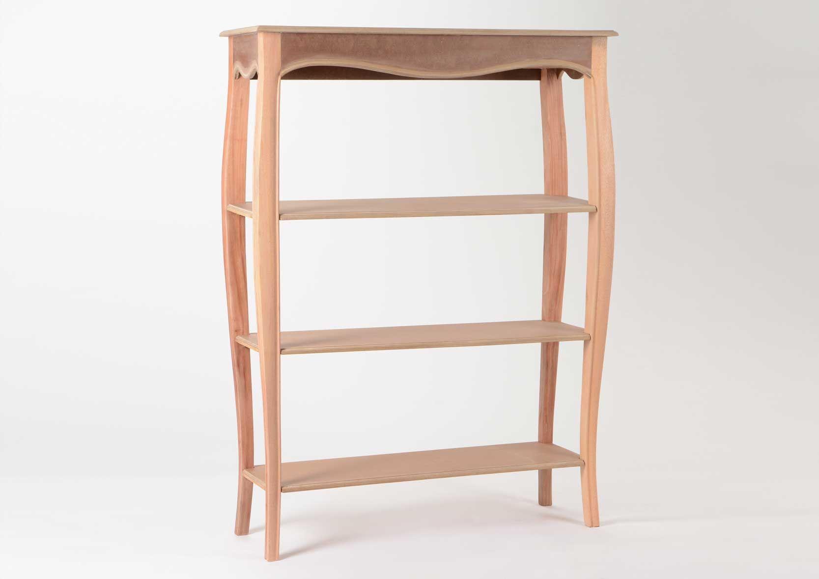 biblioth que en bois mdf merveille. Black Bedroom Furniture Sets. Home Design Ideas
