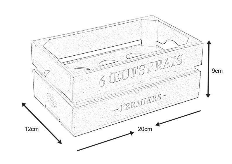 boite ufs en bois boite a uf en bois sur. Black Bedroom Furniture Sets. Home Design Ideas