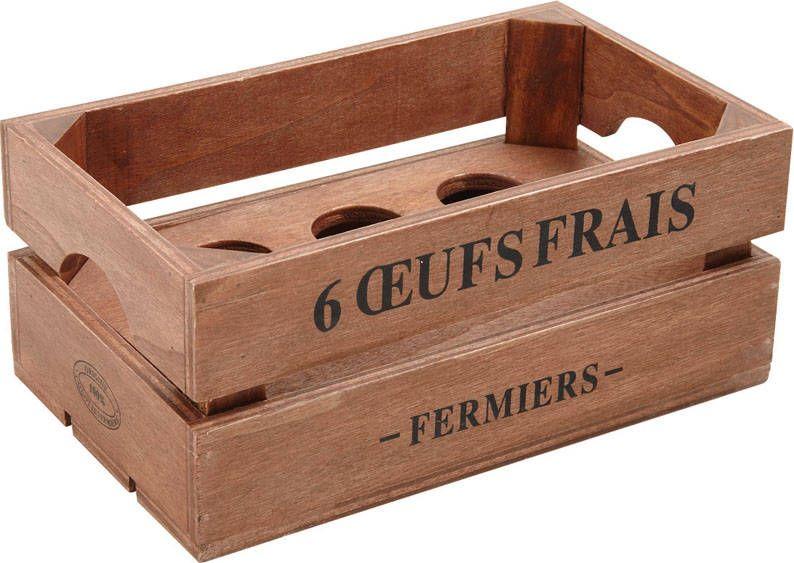 Boite ufs en bois boite a uf en bois sur - Decoration boite oeuf ...