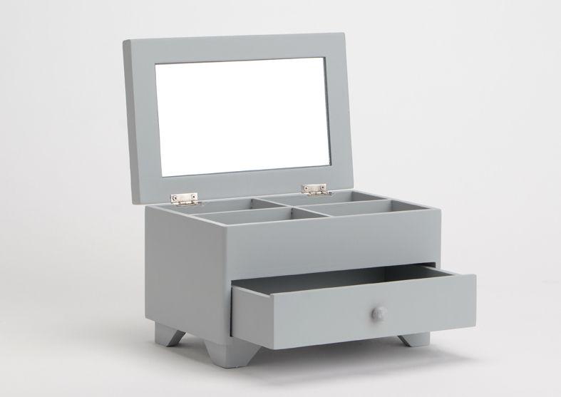 Bo te bijoux avec tiroir jeanne - Boite a outils avec tiroirs ...