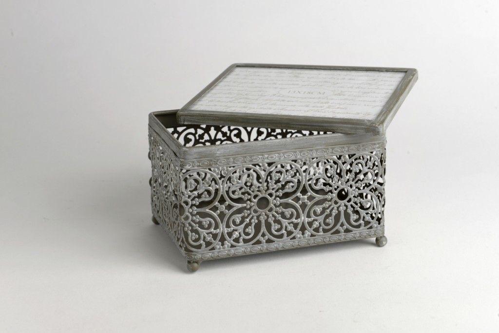 boite bijoux grise photo. Black Bedroom Furniture Sets. Home Design Ideas