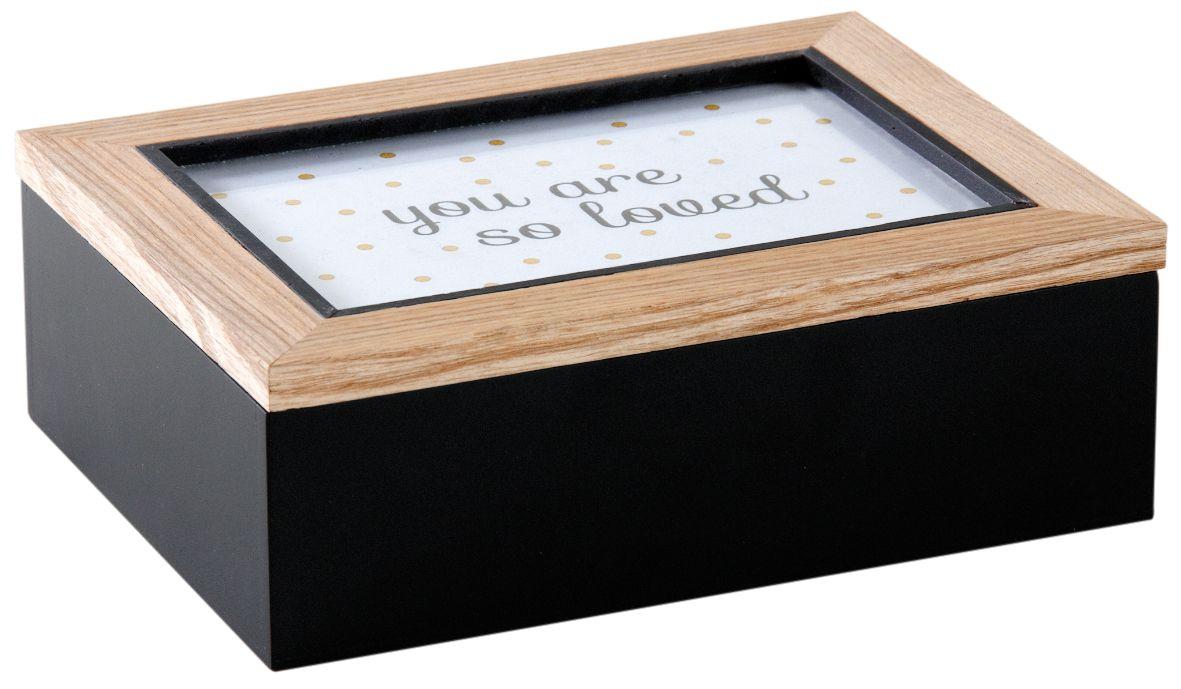 boite compartiment avec cadre photo sur le couvercle. Black Bedroom Furniture Sets. Home Design Ideas