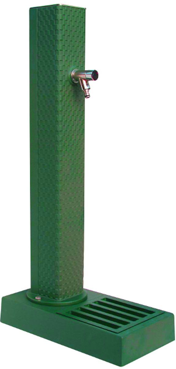 Borne fontaine pixel (vert)
