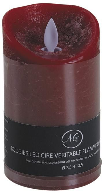 Bougie � LEDs parfum fruits rouges