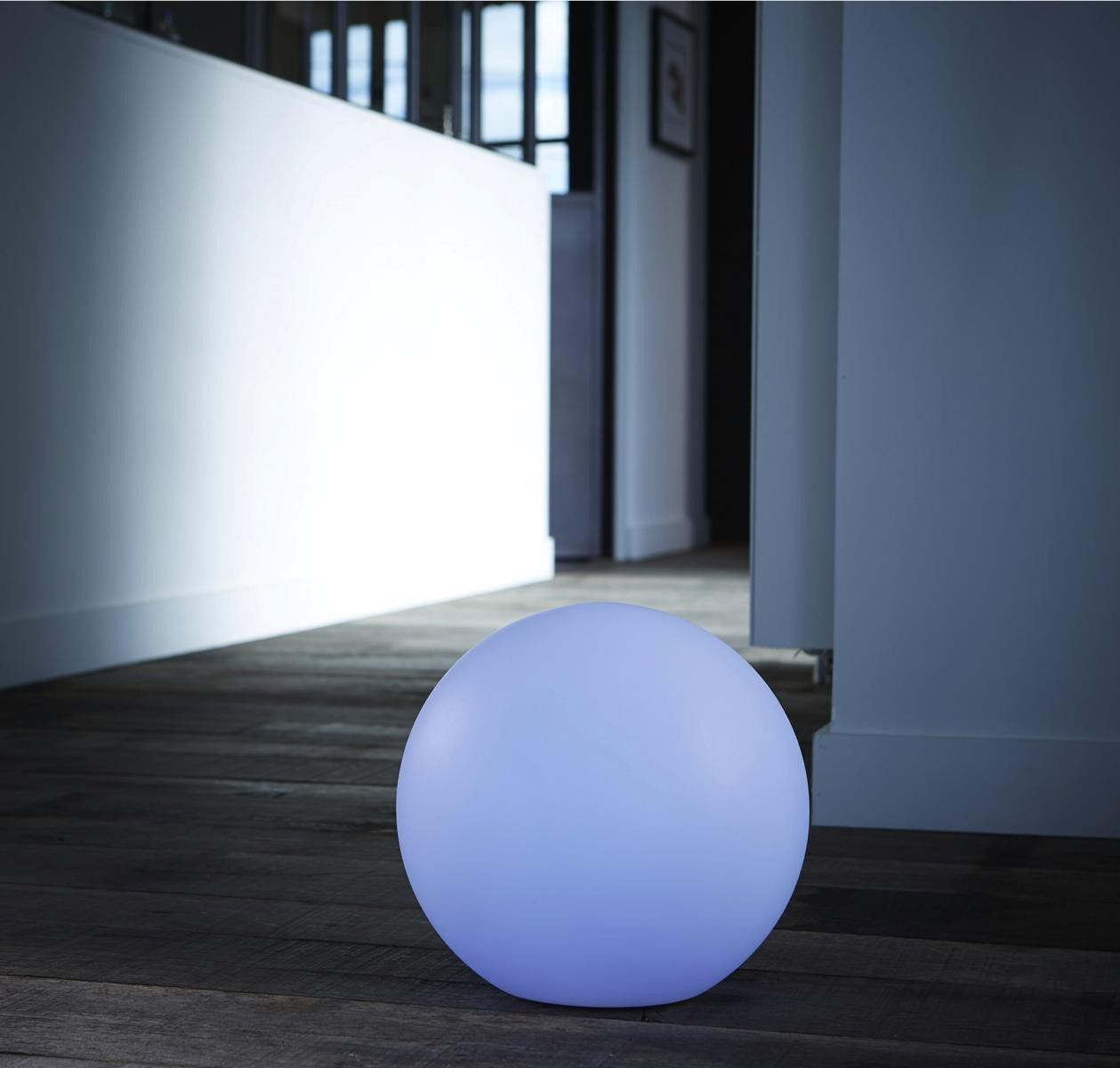 boule lumineuse led 7 couleurs 40 cm. Black Bedroom Furniture Sets. Home Design Ideas