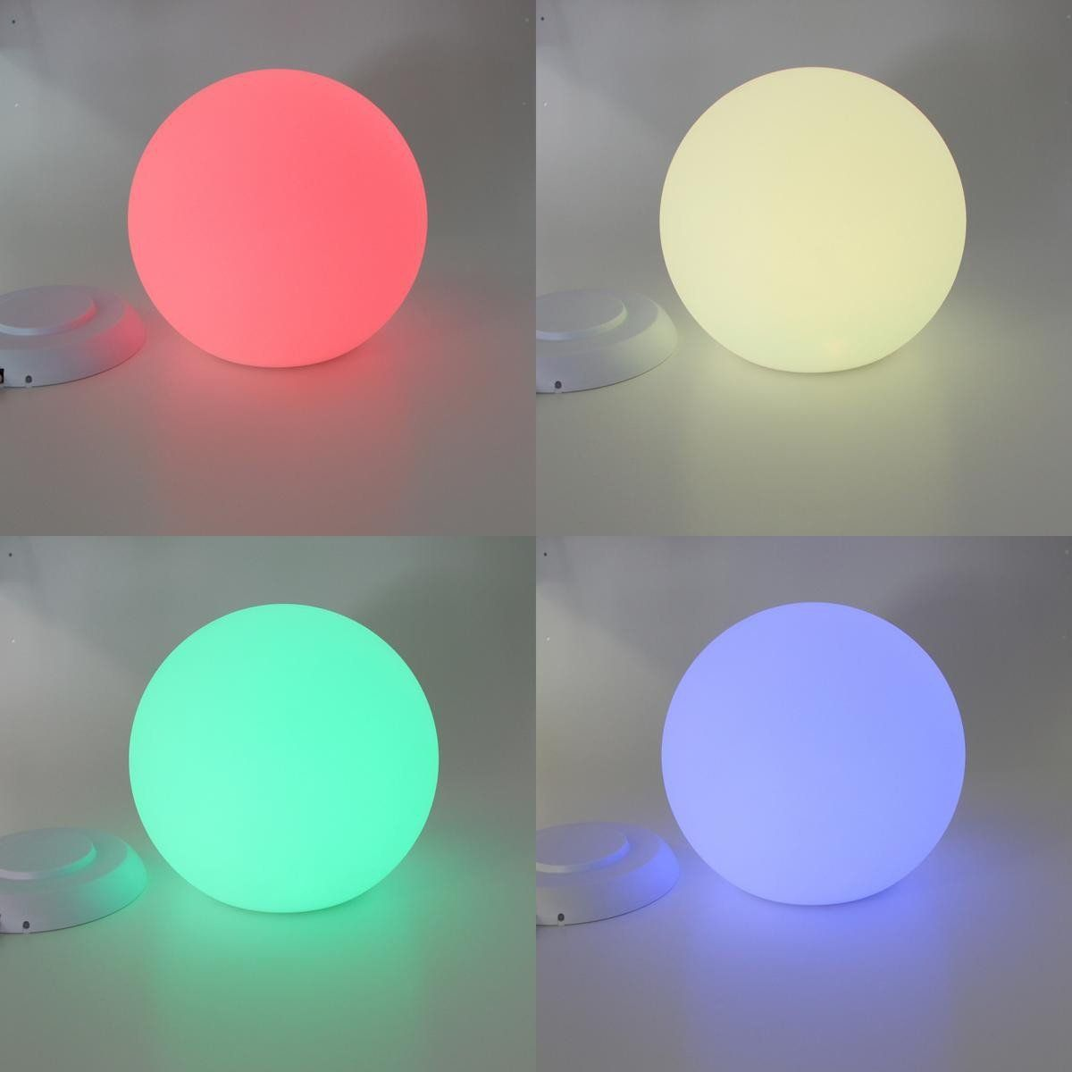 boule lumineuse led 7 couleurs 40 cm. Black Bedroom Furniture Sets. Home Design Ideas