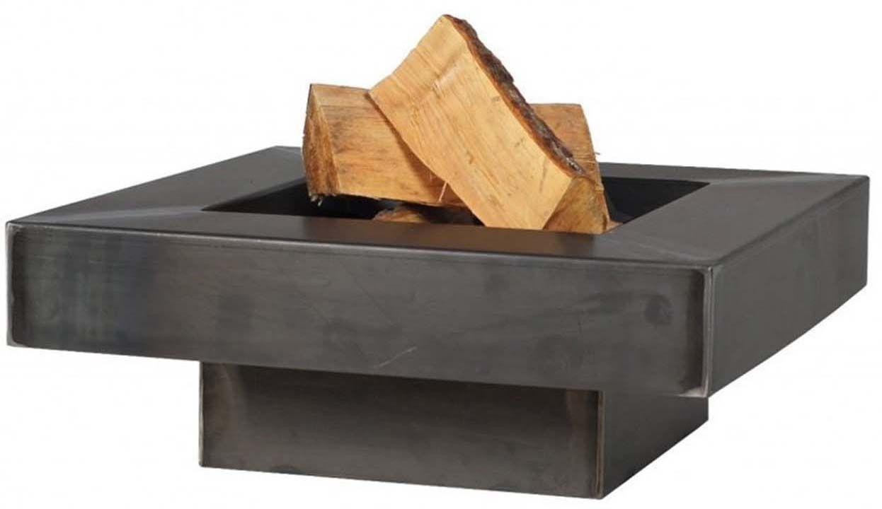 brasero en acier plateau design 60 cm. Black Bedroom Furniture Sets. Home Design Ideas