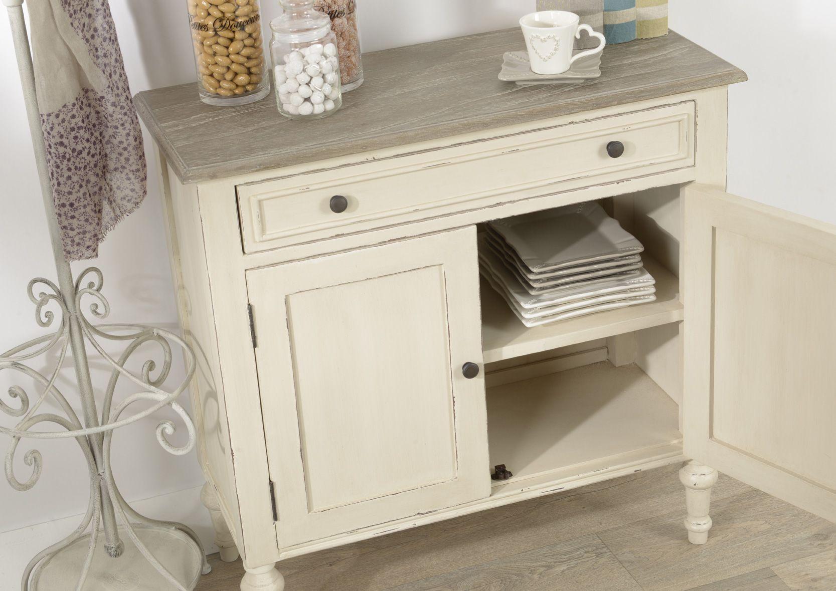 buffet troit 1 tiroir legende. Black Bedroom Furniture Sets. Home Design Ideas