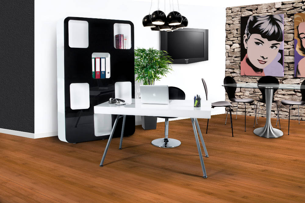 bureau moderne avec tiroirs pisa. Black Bedroom Furniture Sets. Home Design Ideas