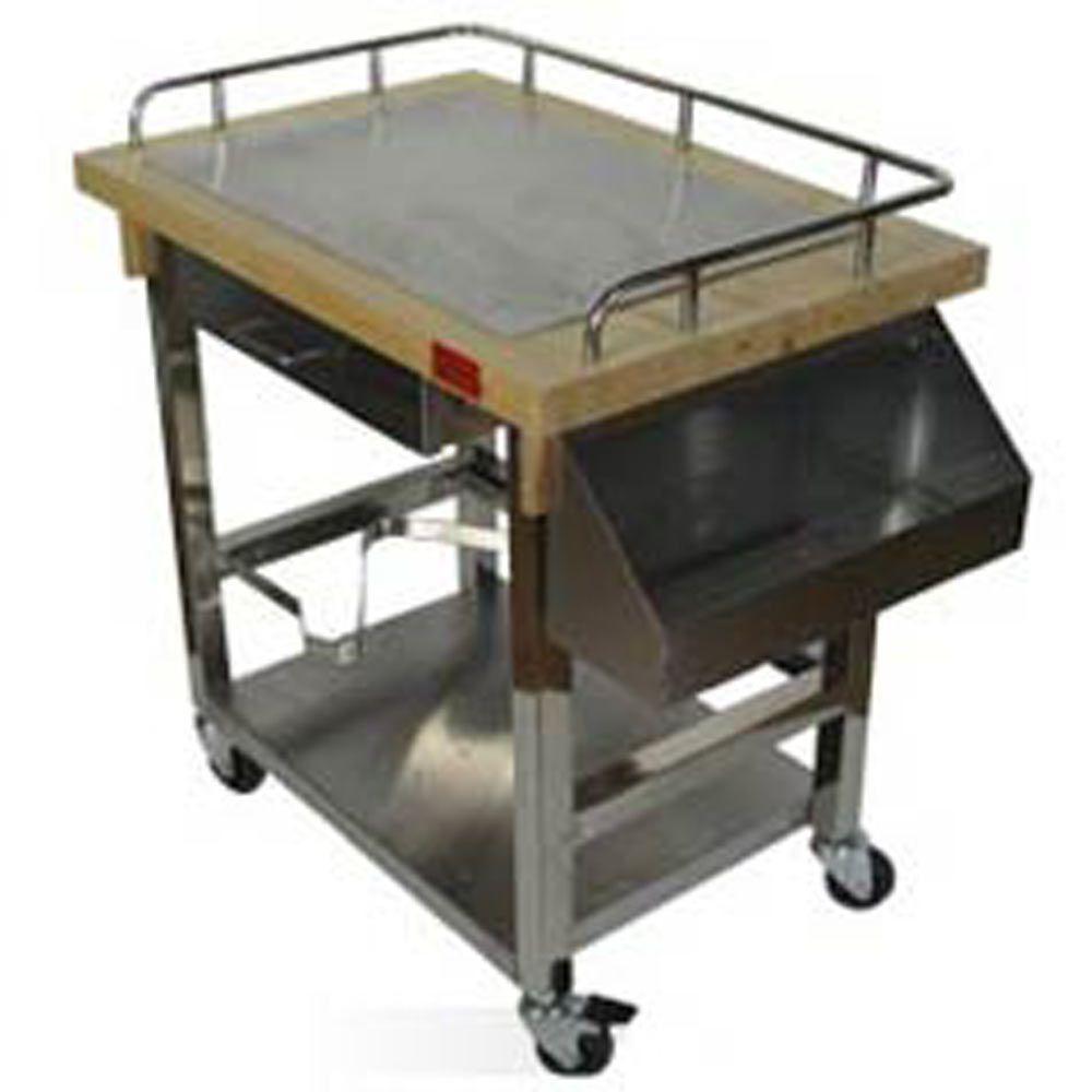 chariot de cuisine en bois chariot forge adour bois desserte pour plancha au gaz porthos 3. Black Bedroom Furniture Sets. Home Design Ideas