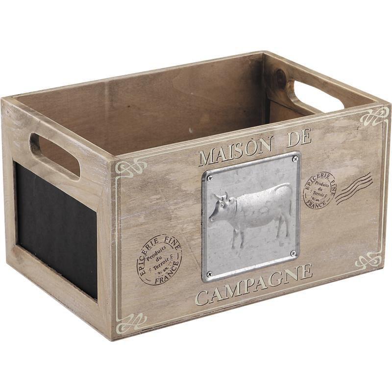 caisse en bois maison de campagne caisse aubry gaspard. Black Bedroom Furniture Sets. Home Design Ideas