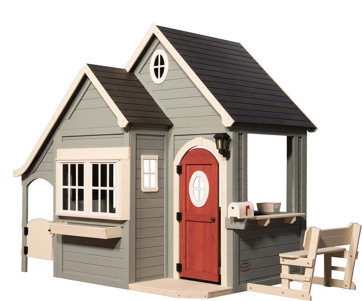Cabane en bois pour enfants spring cottage - Cabane de jardin en bois pour enfants ...