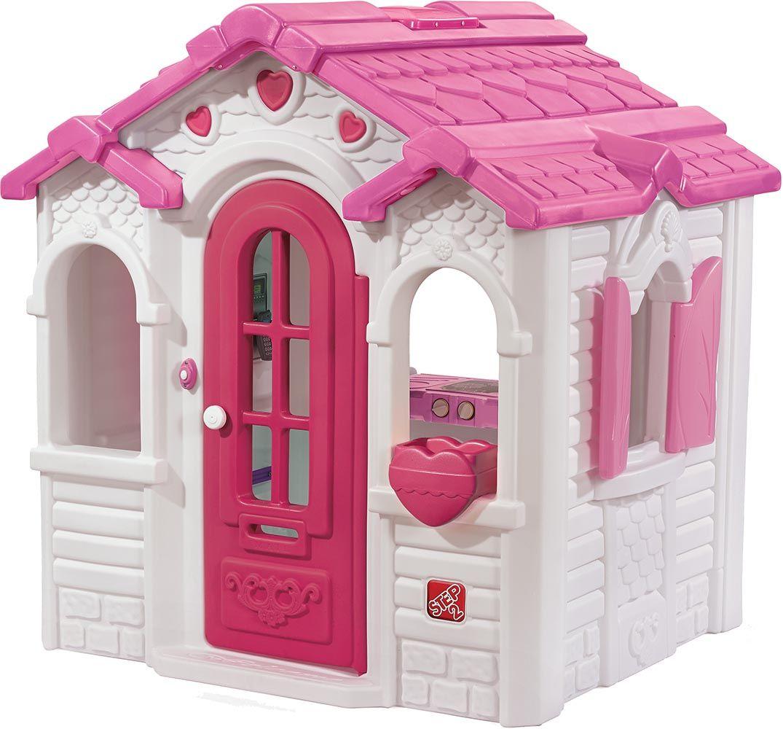 cabane en plastique pour enfants sweetheart. Black Bedroom Furniture Sets. Home Design Ideas