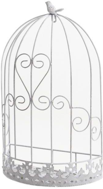 Cage murale d co oiseau en m tal for Cage a oiseau deco