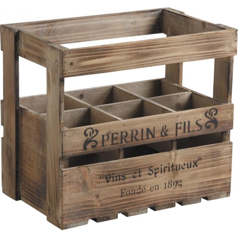 caisse en bois 6 bouteilles caisse en bois bouteille sur. Black Bedroom Furniture Sets. Home Design Ideas
