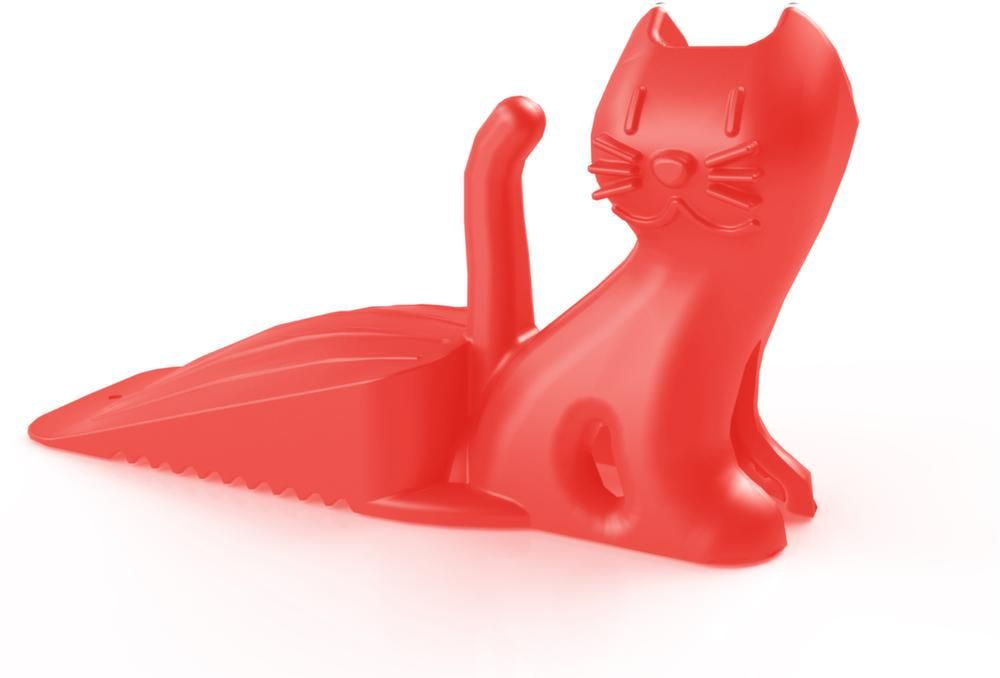 Cale de porte rigolo en caoutchouc Mr chat by Standard gum easy