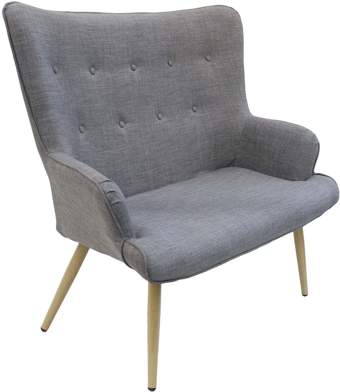 Canapé En Toile De Jute canapé en tissu gris helsinki