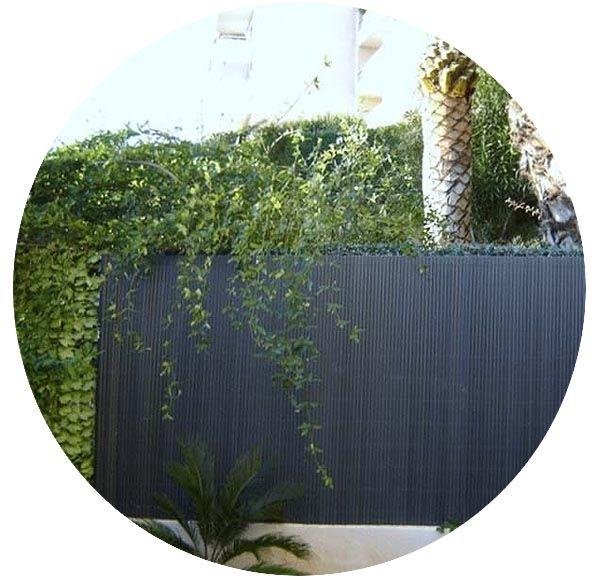 canisse en pvc gris anthracite double face 1 8 x 3 m. Black Bedroom Furniture Sets. Home Design Ideas