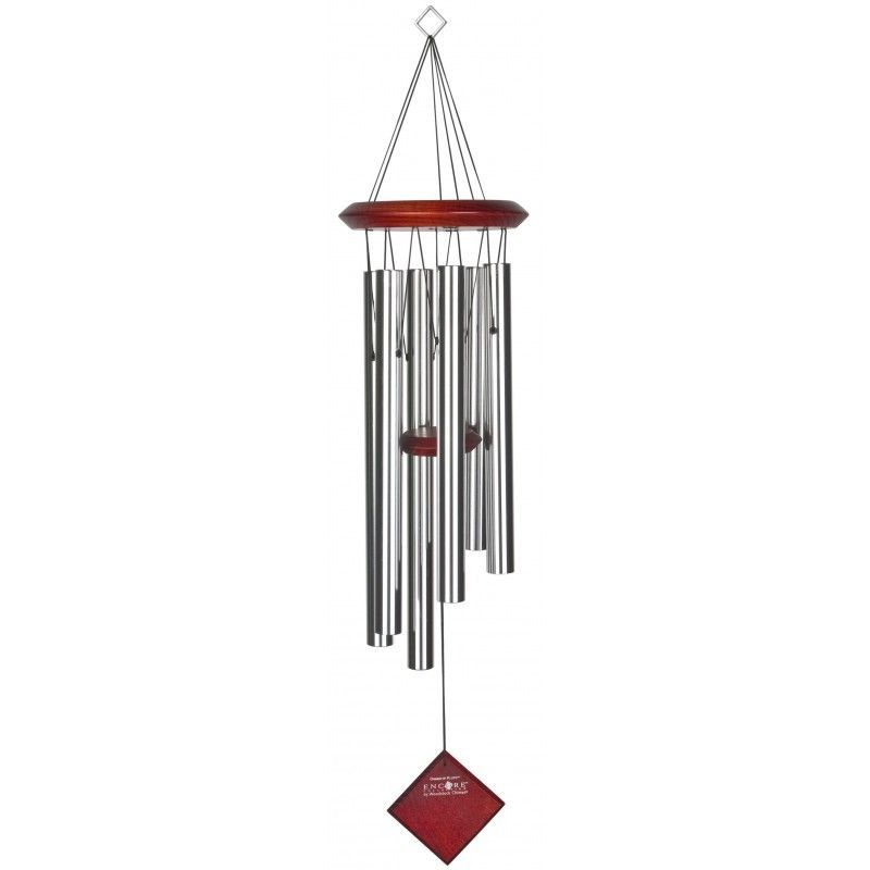 Carillon Encore Pluton argent by Woodstock chimes