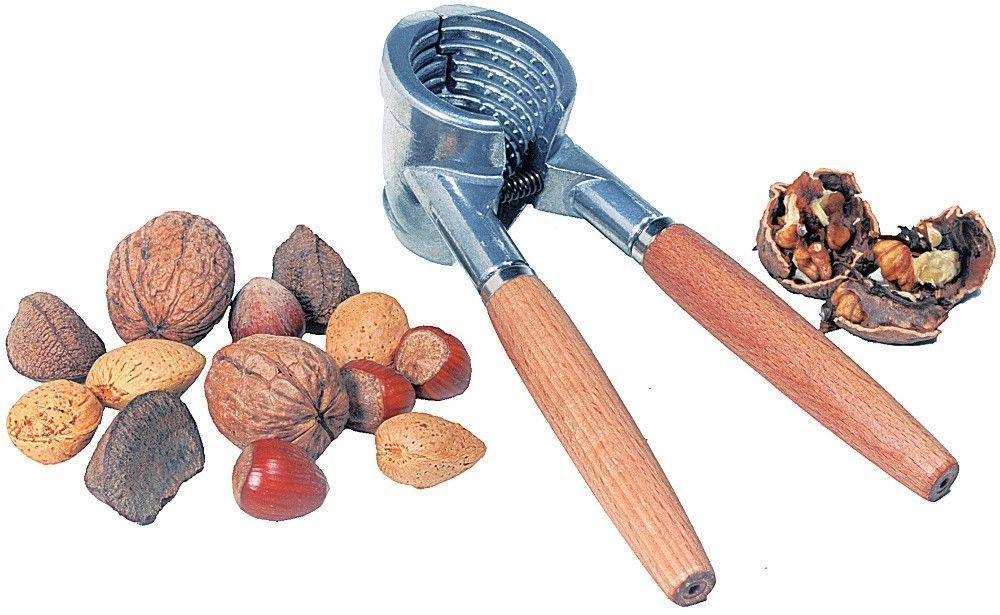 Casse noix alu et bois - Casse noix en bois ...