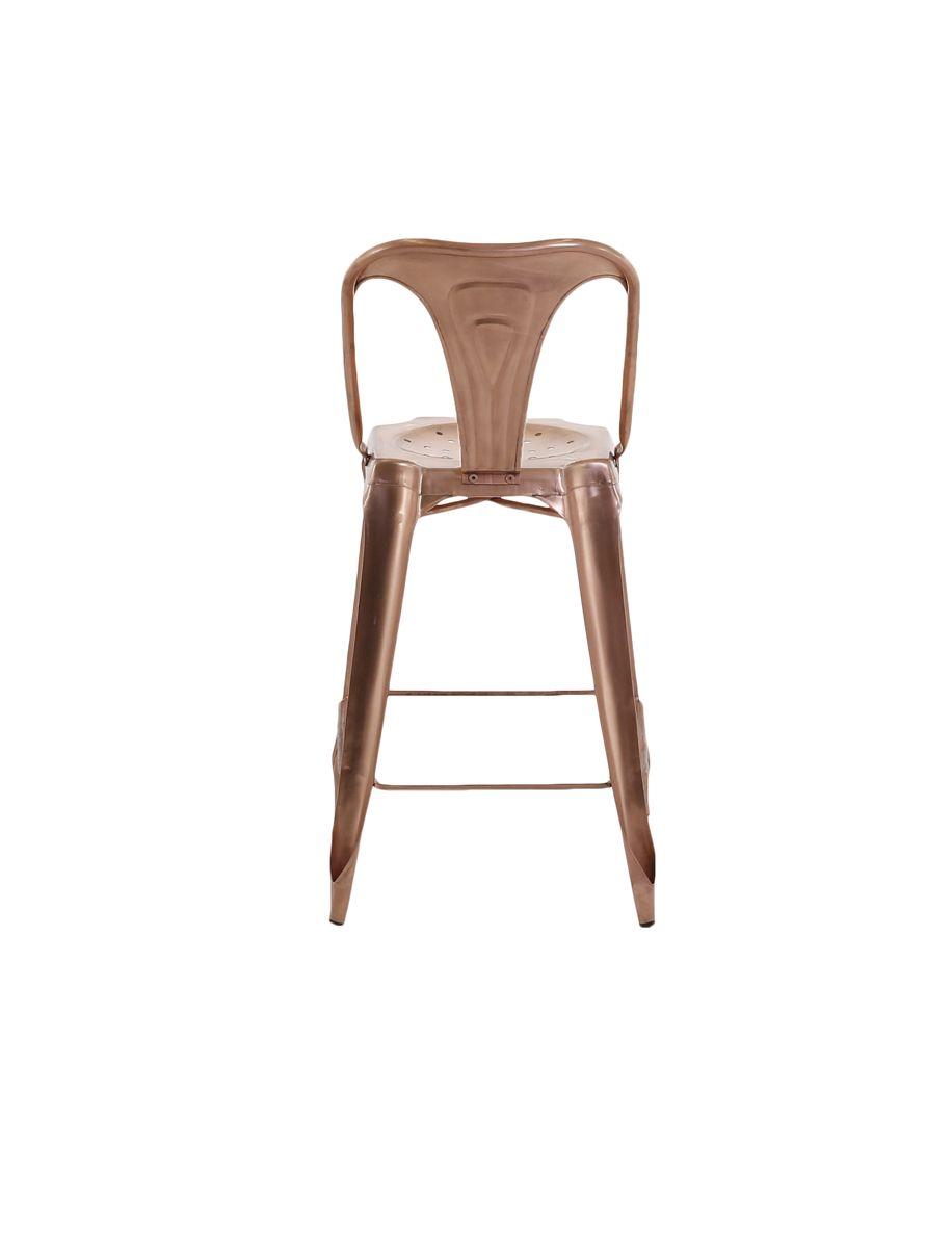 chaise de bar esprit industriel lot de 2. Black Bedroom Furniture Sets. Home Design Ideas
