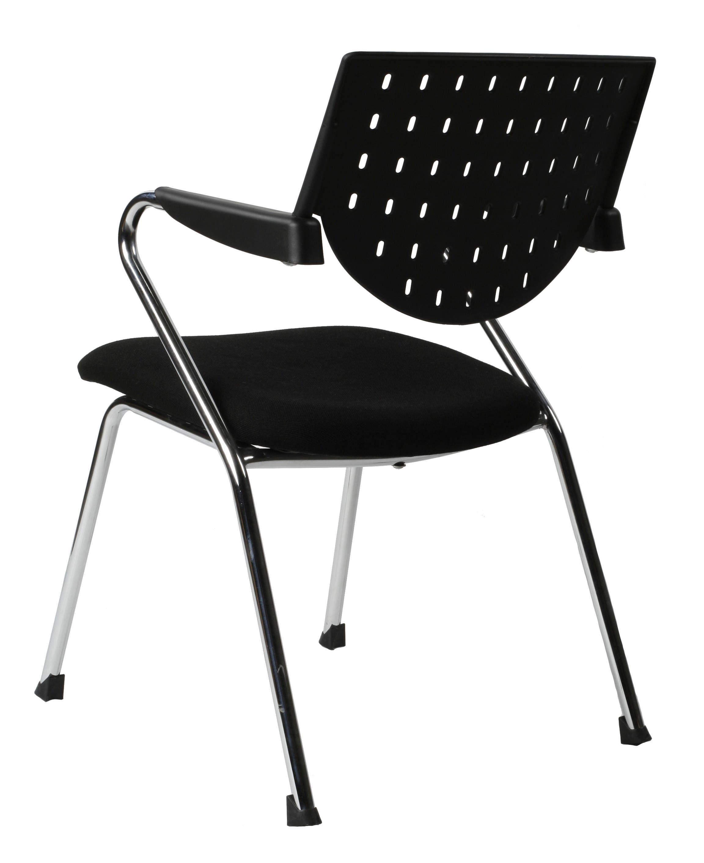 chaise de bureau stanford noir. Black Bedroom Furniture Sets. Home Design Ideas