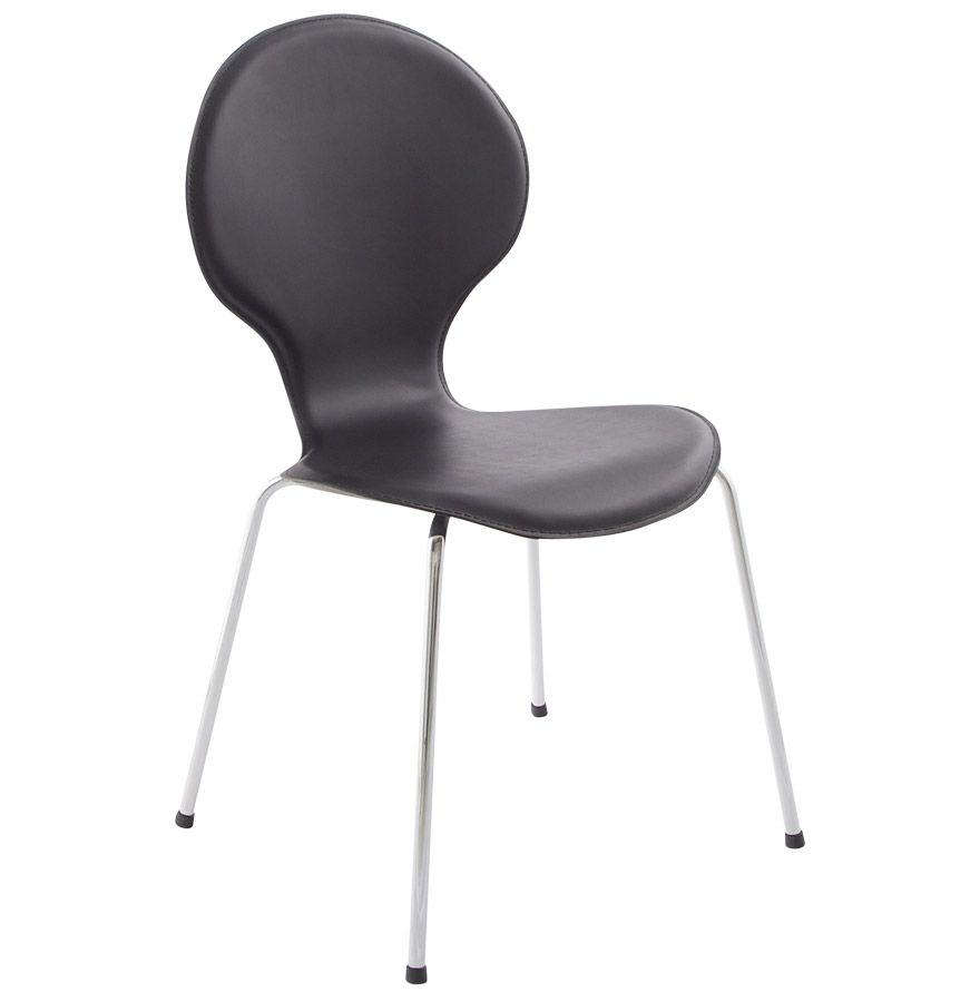 Chaise design contemporain vlind - Chaise de cuisine design ...