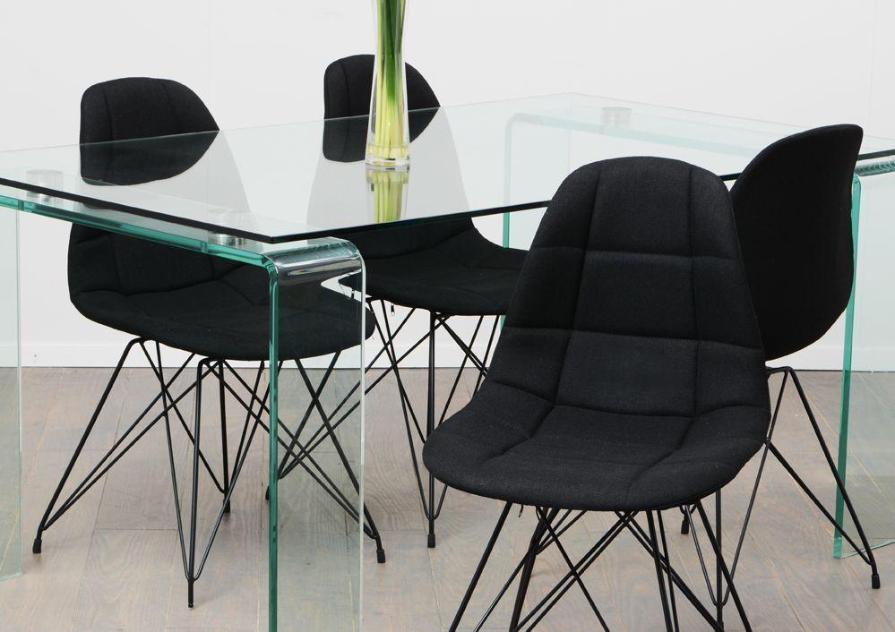 Chaise design m tal et tissu - Chaises exterieur design ...
