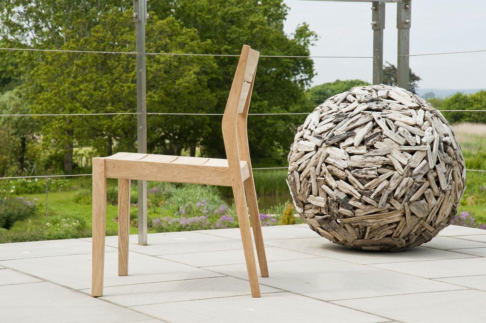 Chaise de jardin tivoli en bois for Chaise de jardin en bois