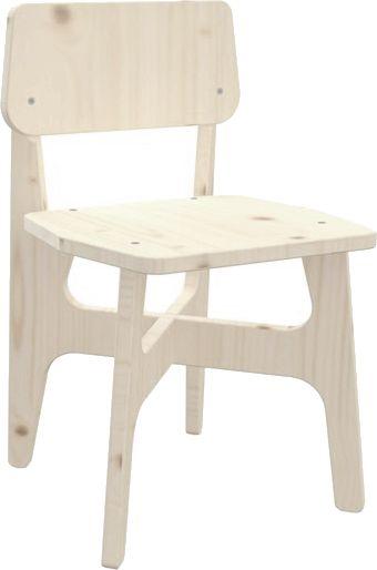 Chaise jardin en bois pr te peindre - Repeindre chaise en bois ...