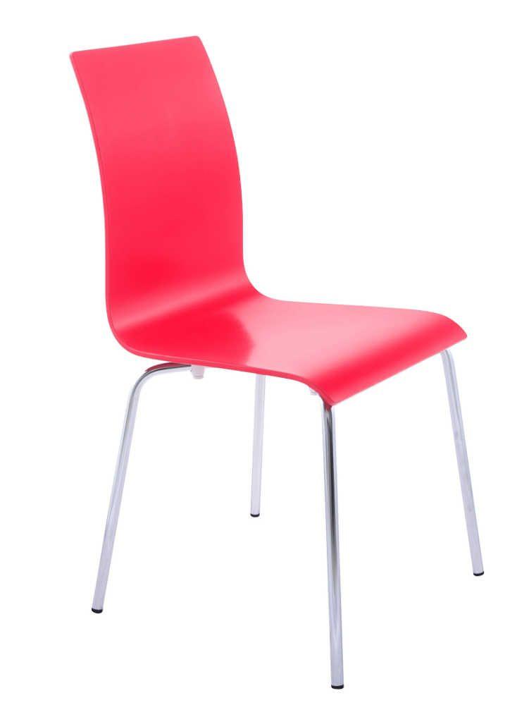 chaise repas design classic rouge. Black Bedroom Furniture Sets. Home Design Ideas