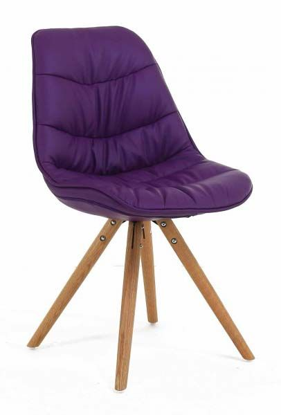 Chaise repas design Lotus (Lot de 2)