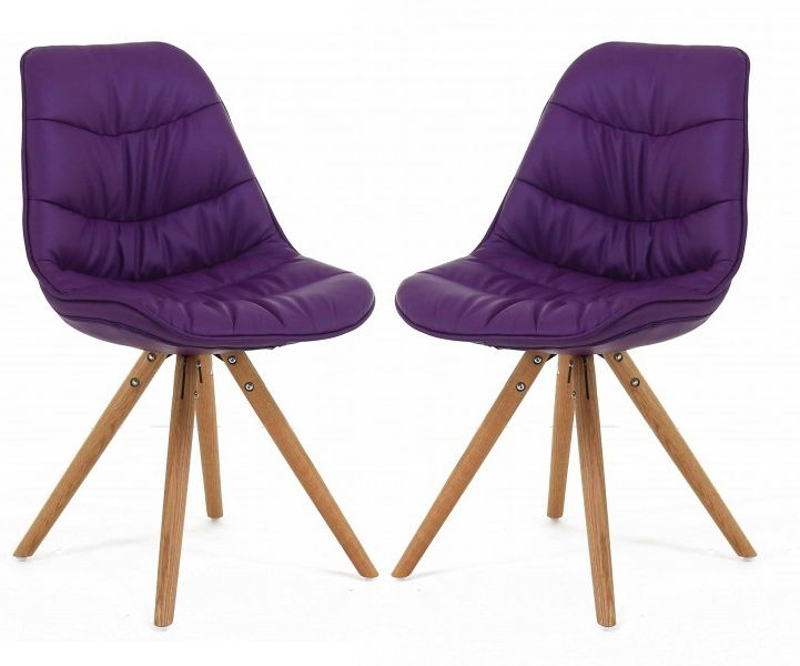 Chaise repas design Lotus (Lot de 2)-1