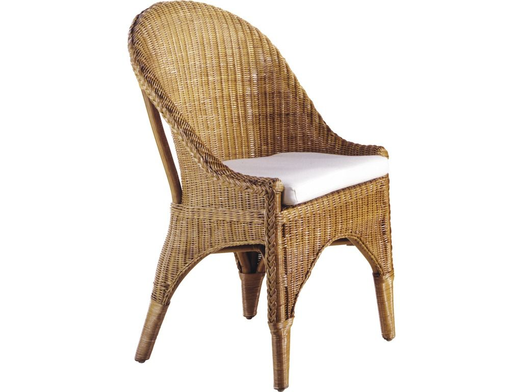 chaise en rotin avec coussin chaises en rotin sur. Black Bedroom Furniture Sets. Home Design Ideas