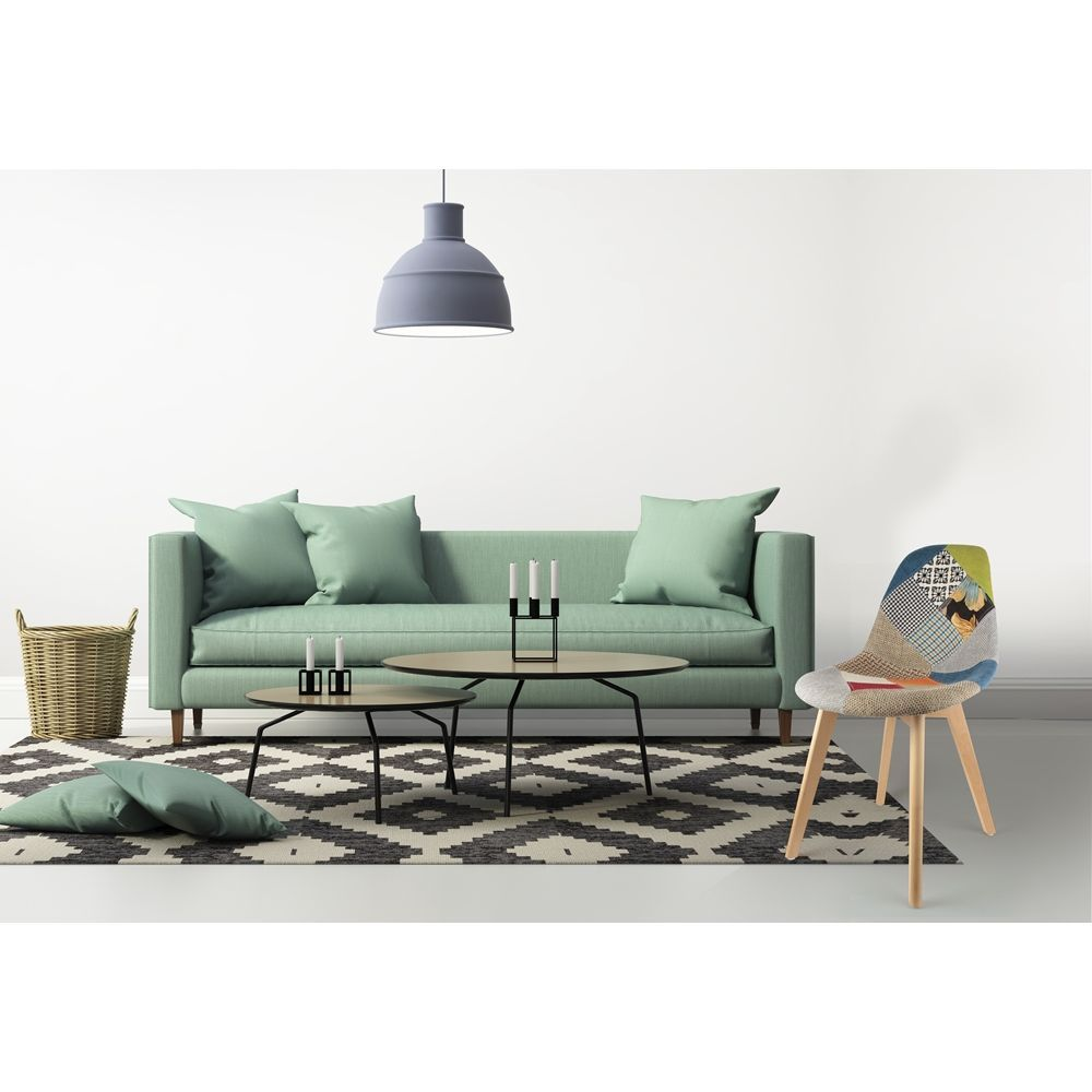 Chaise scandinanve Patchwork-5