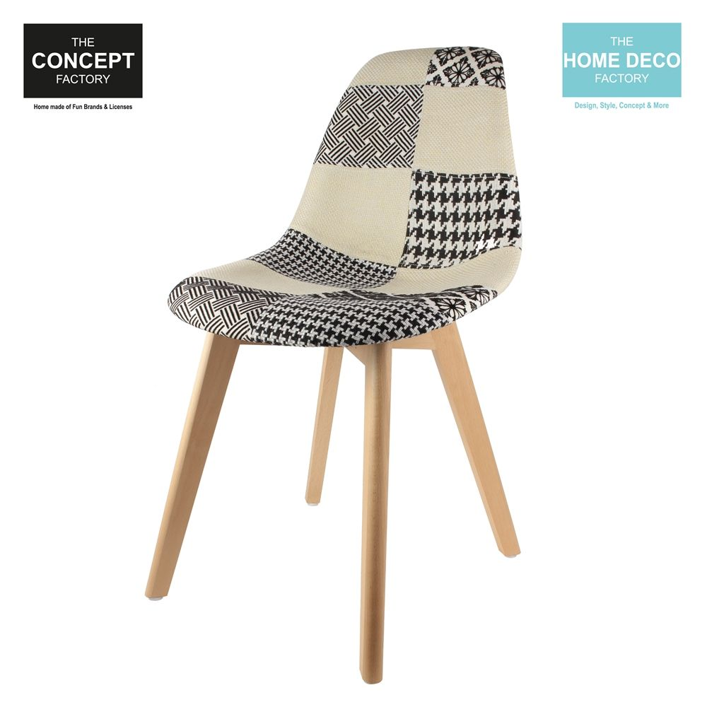 Chaise scandinanve Patchwork-2