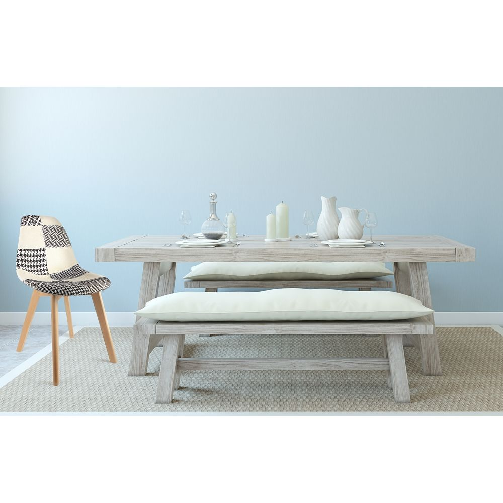 Chaise scandinanve Patchwork-1