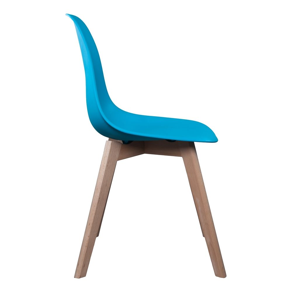 Chaise scandinave coque polypropylène