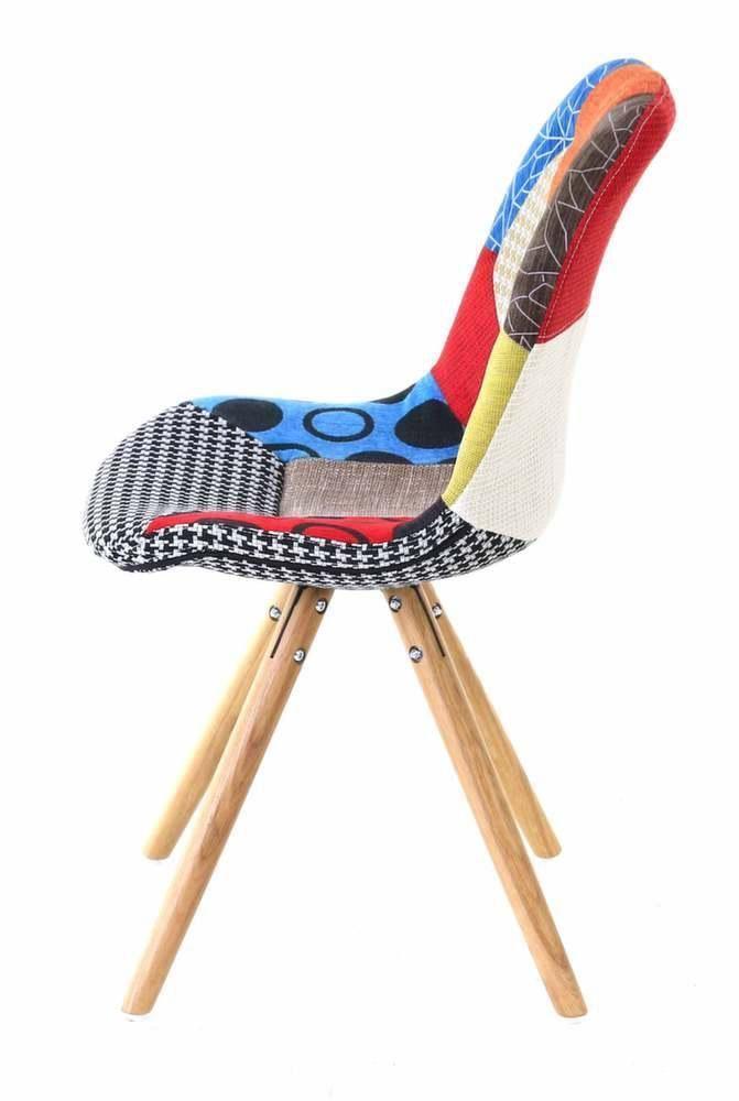 Chaise en tissu patchwork lot de 2 - Lot de tissu patchwork ...