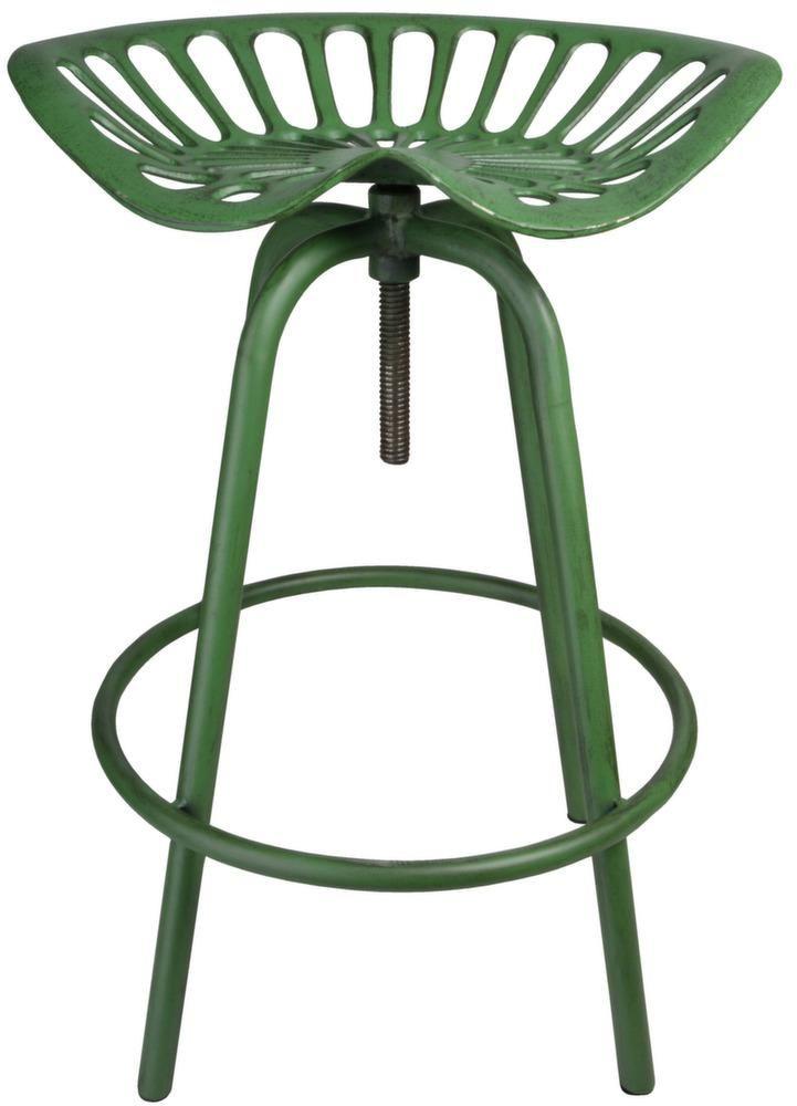 Tabouret avec assise de tracteur en m233tal : Chaise tracteur Hauteur rglable blanc from www.jardindeco.com size 721 x 1000 jpeg 53kB